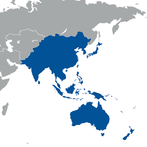 south east asia and the pacific