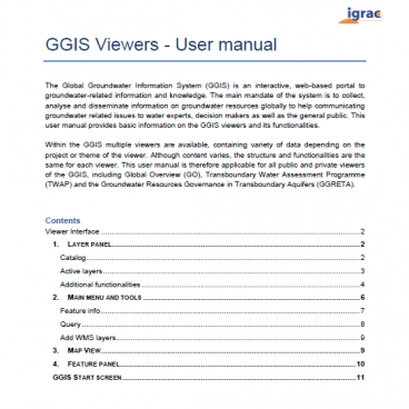 All available GGIS manuals