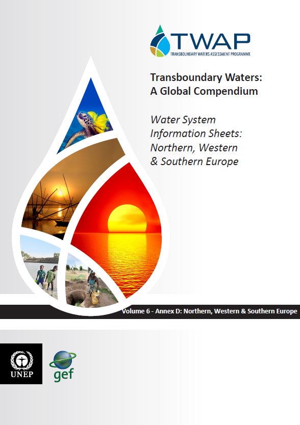 TWAP water system information sheet: Northern, Western & Southern Europe