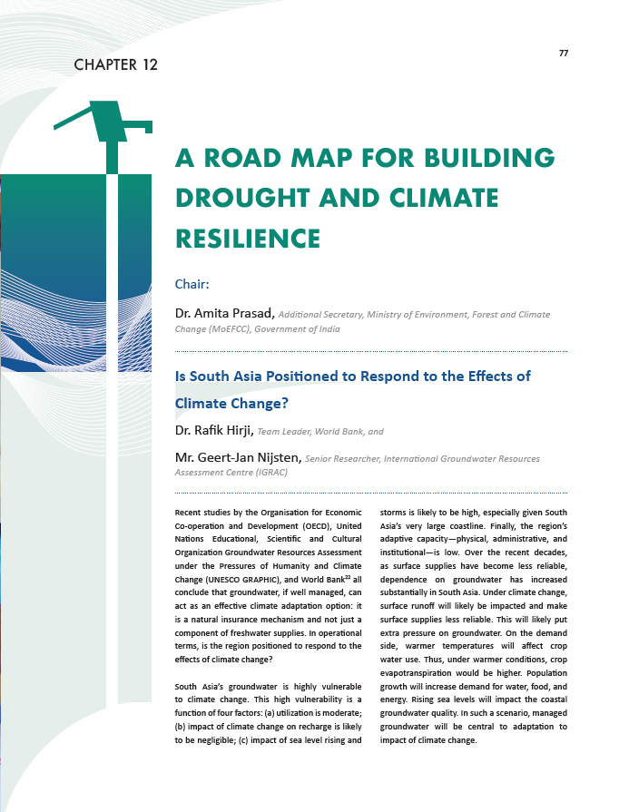 A road map for building drought and climate resilience