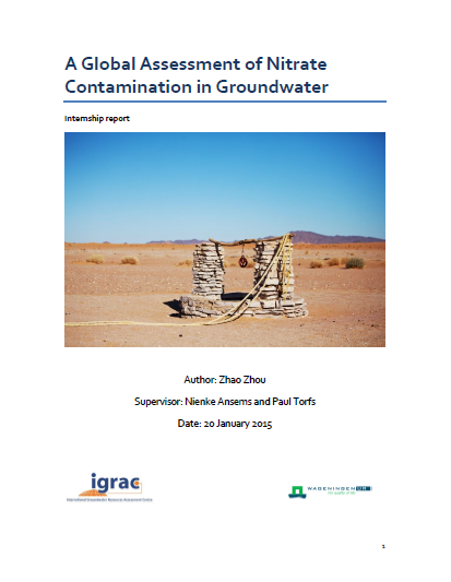 A Global Assessment of Nitrate Contamination in Groundwater