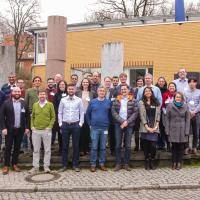 Group picture during kick-off meeting in Potsdam