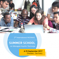 2nd International INOWAS Summer School on Managed Aquifer Recharge, Dresden (Germany)