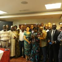 Group picture of project team ANBO