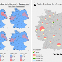 Groundwater stress and groundwater use in Germany