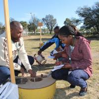 Field work as part of 1st training for young professionals