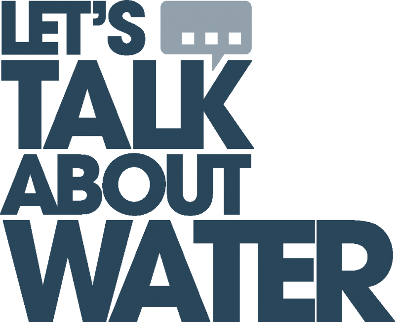 Lets talk about water (LATW) logo