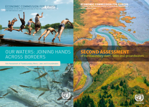 1st & 2nd UNECE assessment report