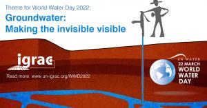 WWD2022 - Groundwater: Making Invisible Visible