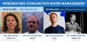 Introducing conjunctive water management