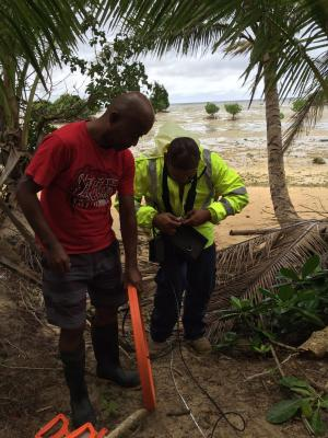 IGRAC training for Pacific SIDS