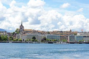 Geneva on the opposite shore by Dennis Jarvis