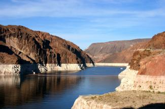 Drought at Lake Mead by Chris Richards