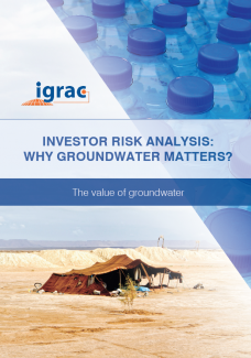 Investor Risk Analysis: Why Groundwater Matters?