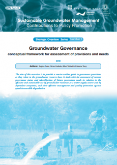 Groundwater Governance - conceptual framework for assessment of provisions and needs