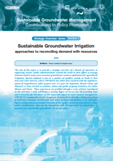 Sustainable Groundwater Irrigation - approaches to reconciling demand with resources