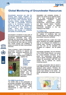Global Monitoring of Groundwater Resources - Brochure