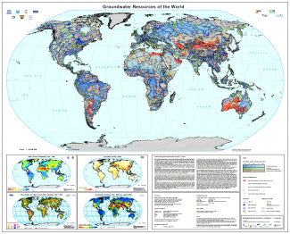 WHYMAP - Groundwater Resources of the World (incl. thematic maps)