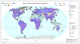 WHYMAP - River and Groundwater Basins of the World