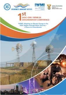 1st SADC-GMI Groundwater Conference 2018