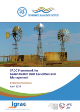SADC Framework for Groundwater Data Collection and Management - Executive Summary