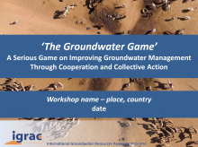 Groundwater game - Presentation