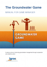 Groundwater game - manual cover