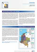 Groundwater monitoring country profile - Colombia