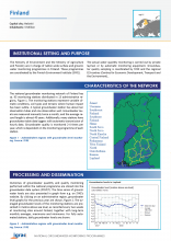 Groundwater monitoring country profile - Finland