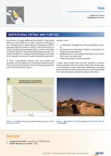 Groundwater monitoring country profile - Iran