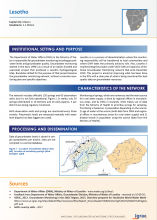 Groundwater monitoring country profile - Lesotho