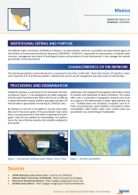 Groundwater monitoring country profile - Mexico
