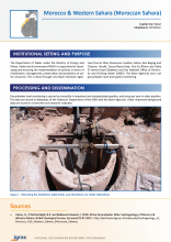 Groundwater monitoring country profile - Morocco and Western Sahara