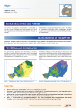 Groundwater monitoring country profile - Niger