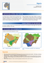 Groundwater monitoring country profile - Nigeria