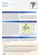 Groundwater monitoring country profile - Paraguay