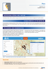 Groundwater monitoring country profile - Peru