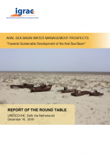 Report Aral Sea roundtable - Dec 2016