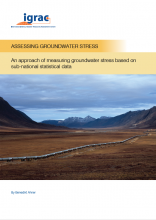 Assessing Groundwater Stress: An approach of measuring groundwater stress based on sub-national statistical data