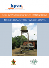 Groundwater resource management in the St. Bonaventure Township Lusaka