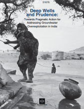 Deep Wells and Prudence: Towards pragmatic action for addressing groundwater overexploitation in India