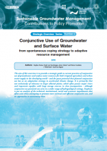 Conjunctive Use of Groundwater and Surface Water -  from spontaneous coping strategy to adaptive resource management