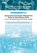 Appropriate Groundwater Management for Sub-Saharan Africa - in face of demographic pressures, climate variability and hydrogeologic uncertainty