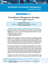 Groundwater Management Strategies: facets of the integrated approach (GW-MATE)