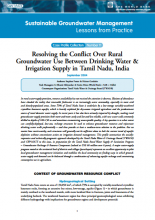 India - Tamil Nadu: resolving the conflict over rural GW use between drinking water and irrigation supply (GW-MATE Case Study)