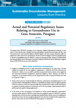 Paraguay - Actual and potential regulatory issues relating to groundwater use in Gran Asuncion (GW-MATE Case study)