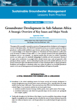 Sub-Saharan Africa - Groundwater Development: a strategic overview of key issues and major needs (GW-MATE Case Study)