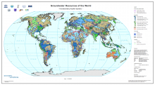WHYMAP - Groundwater Resources of the World (Transboundary Aquifer Systems)