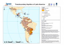 Transboundary Aquifers of Latin America Map
