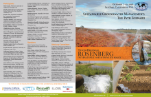 Programme Rosenberg International Forum on Water Policy 2018